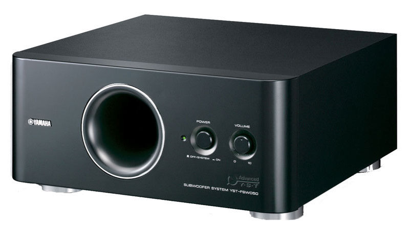 yamaha yst fsw050 powered subwoofer yba audio. Black Bedroom Furniture Sets. Home Design Ideas