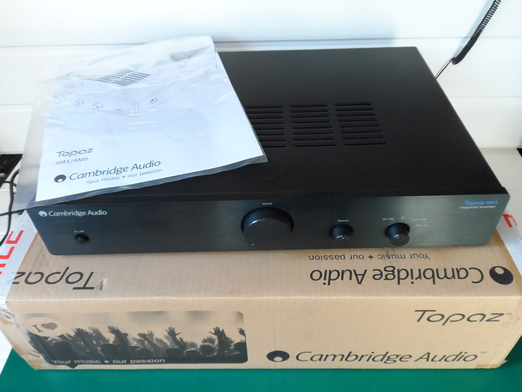 cambridge audio a1 integrated amplifier manual